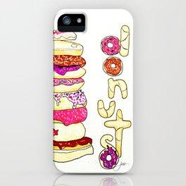Donut Shop iPhone Case
