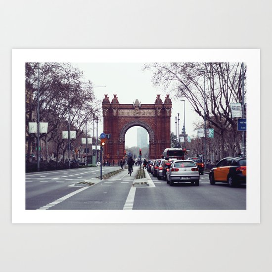 Arc de triomf Art Print