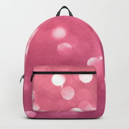 Passionate Pink Champagne Bubbles Backpack