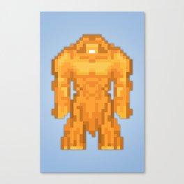 PixelWorld vol. 1   Sasquatch Canvas Print