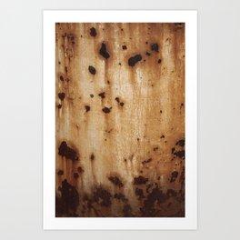 Rust at it's best Art Print