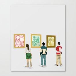 Ferris Bueller at the Art Museum Canvas Print