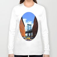 bridge Long Sleeve T-shirts featuring Bridge by Brown Eyed Lady