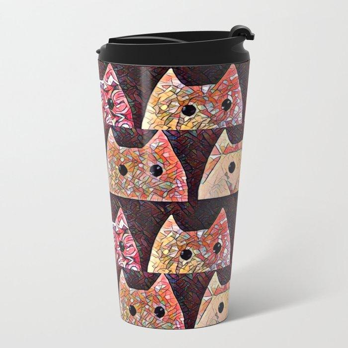 cat-234 Metal Travel Mug