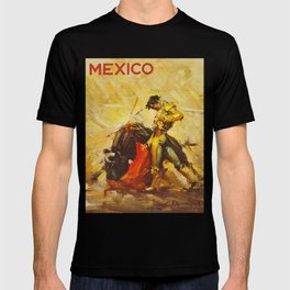 Vintage Mexico Bullfighting Travel T-shirt