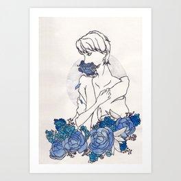 Hanahaki Art Print