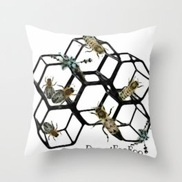 Honey FooFoo Throw Pillow