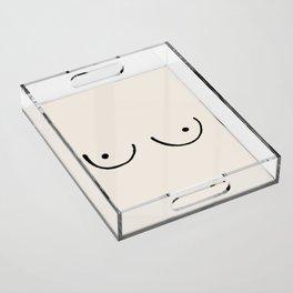 Boobs Acrylic Tray