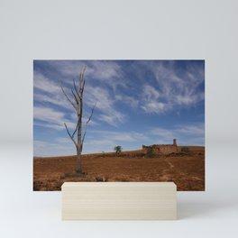 Flinders Ranges Desert Landscape Mini Art Print