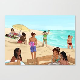 Heirs to the Crown - Summer Special 2017 Canvas Print