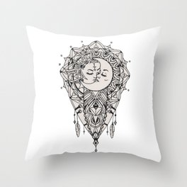 Sun Love Throw Pillow