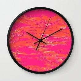 violet film Wall Clock