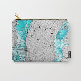 NEW YORK CITY OCEAN MAP Carry-All Pouch