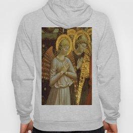 1459 Benozzo Gozoli - Angels (detail) Hoody