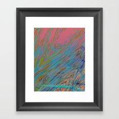 Static 17-D Framed Art Print