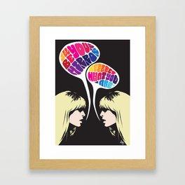 Nico: I'll Be Your Mirror Framed Art Print
