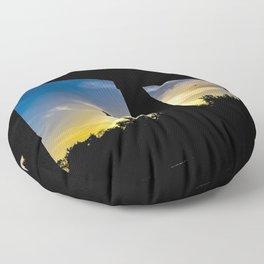 Sunset Jail Floor Pillow