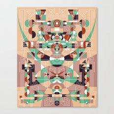 Tribal Technology 1 Canvas Print