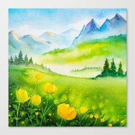 Spring scenery #5 Canvas Print