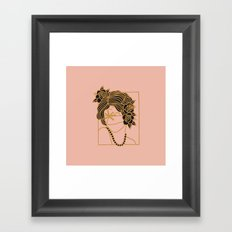 PALM DREAMS Framed Art Print
