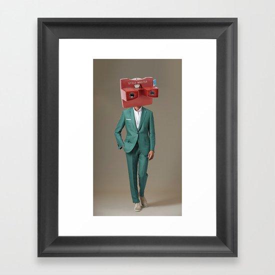 style master Framed Art Print