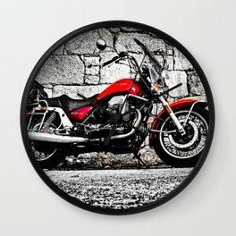 Classic Italian motorcyle Wall Clock