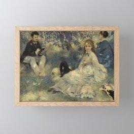 Henriot Family (La Famille Henriot) (1875) by Pierre-Auguste Renoir. Framed Mini Art Print