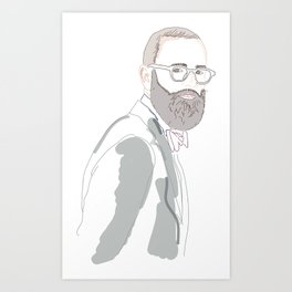 Dior Art Print