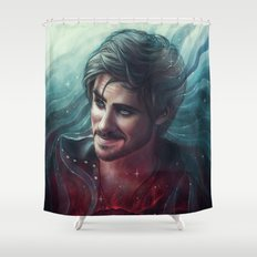 At Your Service, Ma'am Shower Curtain