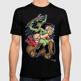 Krampus Spanking T-shirt