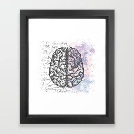 Pastel thoughts... Framed Art Print