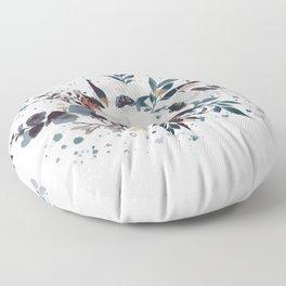 Delicate Beauty - Anemone Bouquet Floor Pillow