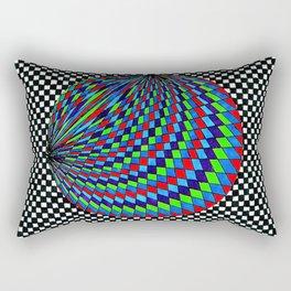 Colourful Circle Rectangular Pillow