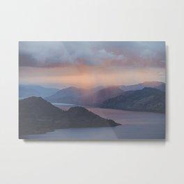 Pincushion Mountain Metal Print