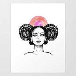 Aries - Zodiac Series Art Print