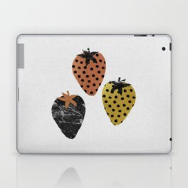 Strawberries Art Print Laptop & iPad Skin