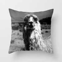peru Throw Pillows featuring Peru Journey NO2 by Julia Aufschnaiter