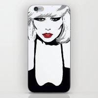 blondie iPhone & iPod Skins featuring Blondie  by Saundra Myles