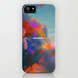 Subsidence iPhone Case