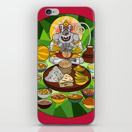 Hanuman's Meal iPhone Skin