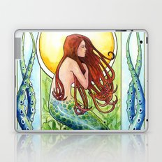 Kelp Forest Mermaid Laptop & iPad Skin