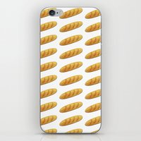 bread iPhone & iPod Skins featuring bread by Bread Sports