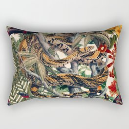 Dangers in the Forest II Rectangular Pillow