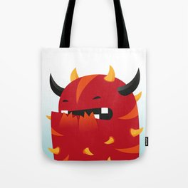 Rollo, the monster Tote Bag
