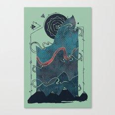 Northern Nightsky Canvas Print