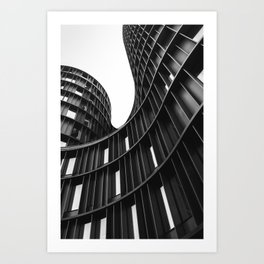 AXEL TOWERS / Copenhagen, Denmark Art Print