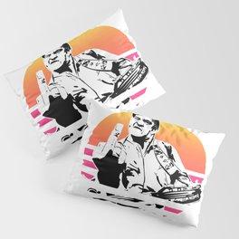 Johnny Cash Retro Pillow Sham