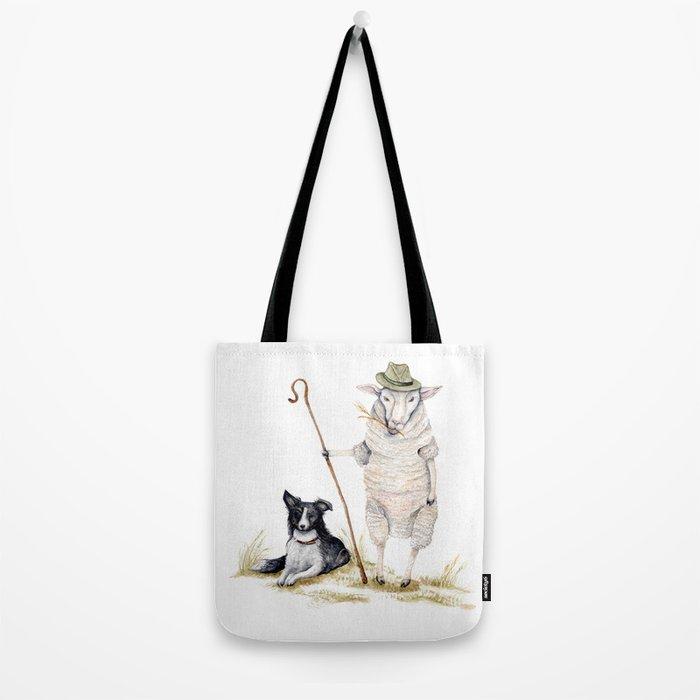 Sheepherd Sheep Tote Bag