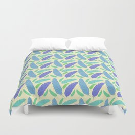 Patterned Feather Pattern Duvet Cover