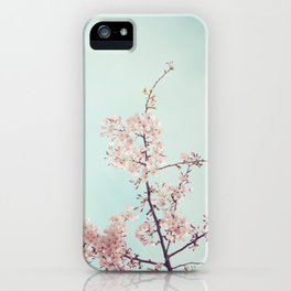 Spring happiness iPhone Case